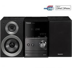 Mikrowieża CD/MP3/USB/iPod SC-PM500EF-K czarna + Słuchawki audio SBCHP400...