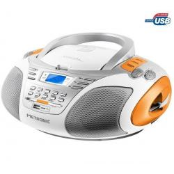 Radioodtwarzacz CD/MP3/USB Sport White + Bransoletka pamięć  USB Gulli...
