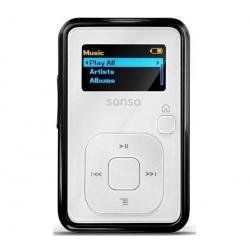 Odtwarzacz MP3 Sansa Clip+ 4 GB biały + Słuchawki PX 30...