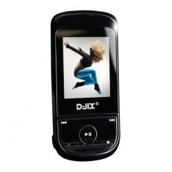 Odtwarzacz MP4 M460 - 4 GB czarny + Słuchawki stereo dzwiek digital(CS01) + Ładowarka USB biała...