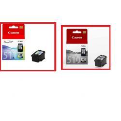 CANON PG510 + CL511 PIXMA  MP270 MP272 MP480 MP490