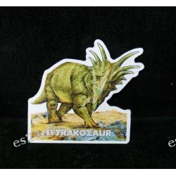 Styrakozaur - magnes Wisiorki