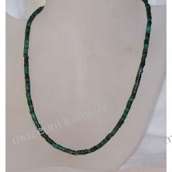 Naszyjnik z turkusu w srebrze N35 Biżuteria i Zegarki