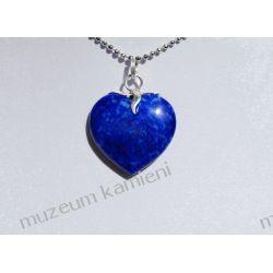 Wisior z lapis lazuli w srebrze WA114 Biżuteria i Zegarki