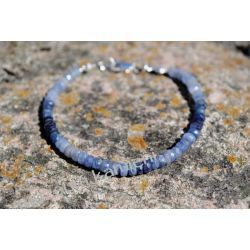 Szafir! Bransoletka w srebrze B257 Biżuteria dla Pań
