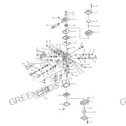 Gaźnik WALBRO WT-780 OleoMac 941C, 941CX, GS 410C, GS 410CX | Efco 141C, 141 CX