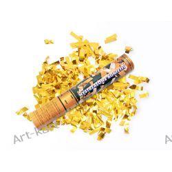 Tuba strzelająca złotym konfetti / 30cm Zaproszenia, zawiadomienia