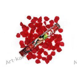 Tuba - granat strzelający bordowymi płatkami róż / 40cm Zaproszenia, zawiadomienia