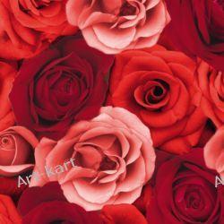 Serwetki Dunilin róże  40x40cm - 12szt Zaproszenia, zawiadomienia