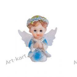 Figurka na tort komunijny 4,5cm KFF5C / aniołek chłopiec Zaproszenia, zawiadomienia