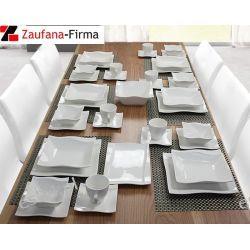Markowy Serwis Obiadowy dla 6 osób 38 elementów.