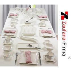Serwis Obiadowy-kawowy-śniadaniowy na 6 osób 36 el