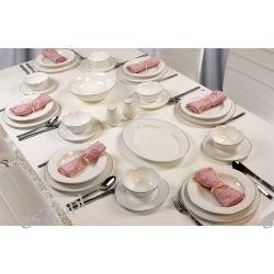 Serwis Obiadowy-kawowy-śniadaniowy na 6 osób 28 el