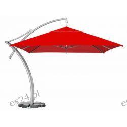 Parasol Ogrodowy Ibiza Quattro 3,5x3,5 m - Czerwony