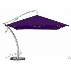 Parasol Ogrodowy Ibiza Quattro 3,5x3,5 m - Fioletowy