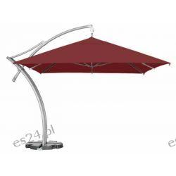 Parasol Ogrodowy Ibiza Quattro 3,5x3,5 m - Burgundy