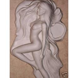 """Relief"""" Naga kobieta"""""""