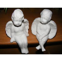 Siedzące aniołki ,anioły