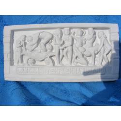 Kamasutra relief indyjski  duży  21 cm x 10 cm