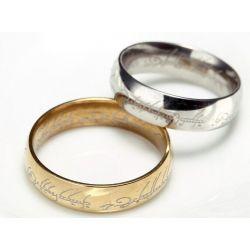 Pierścień -Władca Pierścieni,Hobbit Biżuteria i Zegarki