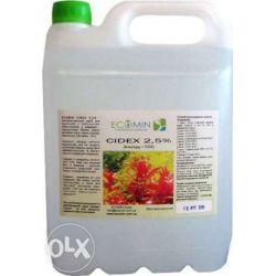 Cidex2,5% zwalcza  glony i nawóz-250ml Dom i Ogród
