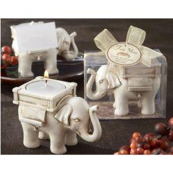 Słonik z miejscem na świeczkę