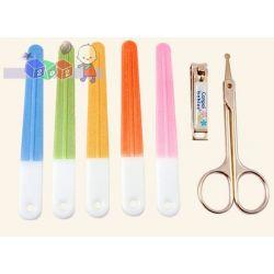 Zestaw do pielęgnacji dziecięcych paznokci pilniczek cążki nożyczki Canpol...