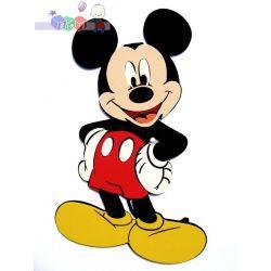 Dekoracja pokoiku dziecięcego, naklejki na ścianę Myszka Miki...