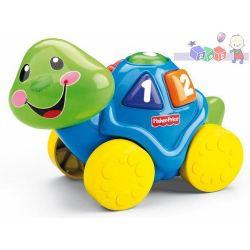 Zabawka Fisher Price - śpiewający żółw uczy kształtów i kolorów...