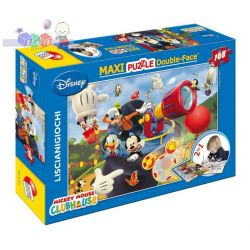 Rewolucyjne dwustronne puzzle do układania i kolorowania 2 w 1 Liscianigiochi 108 el. Myszka Mickey...