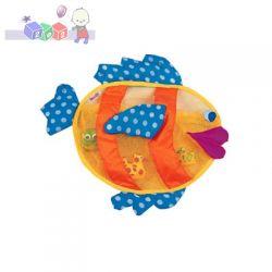 Kolorowa rybka Duża siatka na zabawki firmy Sassy 0m+...