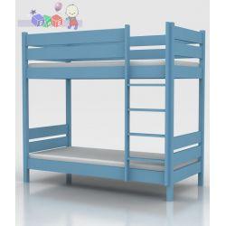 Piętrowe łóżeczko młodzieżowe 90 x 200 z drabinką....