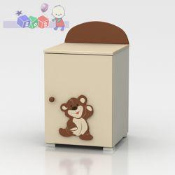 Nocna szafka do kompletu mebli dziecięcych...