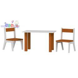 Stolik + 2 krzesełka  komplet dziecięcych mebli 50x80x54h...