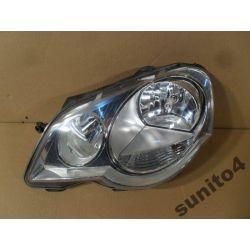 Reflektor lewy VW Polo 2005-