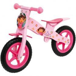 Drewniany rowerek biegowy Dora - Disney -od 3 lat