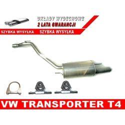 TŁUMIK KOŃCOWY OSTATNI WIESZAKI VW VOLKSWAGEN T4 TRANSPORTER 2.0 2.5 2.8 OSPRZĘT