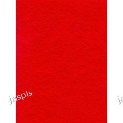 Filc czerwony - arkusz grubość 2 mm Filcowanie