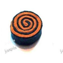 """Koła """"ślimaki"""" - czarno-pomarańczowe"""