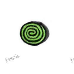 """Koła """"ślimaki"""" - czarno-zielone"""