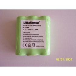 Bateria Motorola Radius P10 P50 P60 SP10 Spirit 6060937H01 HNN9044A HNN9056 HNN9056A HNN9056B HNN9065 1100mAh NiMH 7,2V Bluetooth
