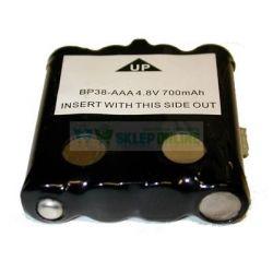 Bateria Uniden BP-38 BP-39 Doro BM35 700mAh NiMH 4.8V... Bluetooth