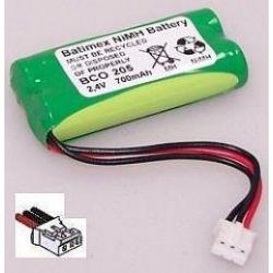 Bateria do telefonu Philips Kala 300 DECT 211 215 215s Xalio 300 400 60AAAH2BMX 700mAh 1.7Wh NiMH 2.4V 2xAAA... Bluetooth