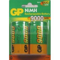 Akumulator D/R20 9000mAh 10.8Wh NiMH 1.2V GP Battery 34.2x61.5mm B2 Bluetooth