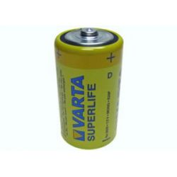 Bateria R20 Varta Superlife 1.5V folia Bluetooth