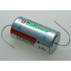 Bateria litowa LS 26500 LSH 14 SL-2770 SL-770 SW-C01 TLH-5920 ER26500M-AX 3.6V C 26.5x50mm wysokoprądowa druty osiowe Bluetooth