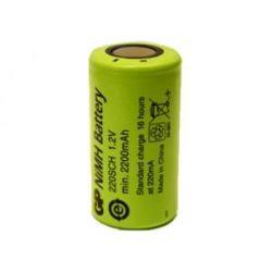 Akumulator GP Battery 220SCH 2200mAh 2.6Wh NiMH 1.2V SC 23x43mm Bluetooth