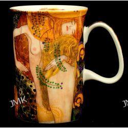 Kubek Classic - Gustav Klimt - Water Snakes