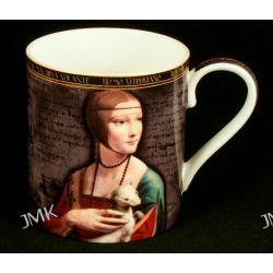 Kubek - Leonardo Da Vinci - Dama z łasiczką