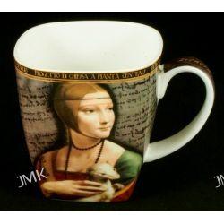 Kubek Da Vinci - Dama z lasiczka